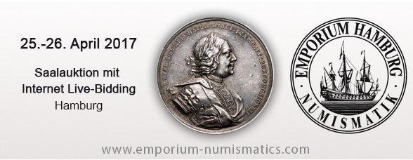 25.-26. April 2017 - Auktion 78 - Emporium Numismatics